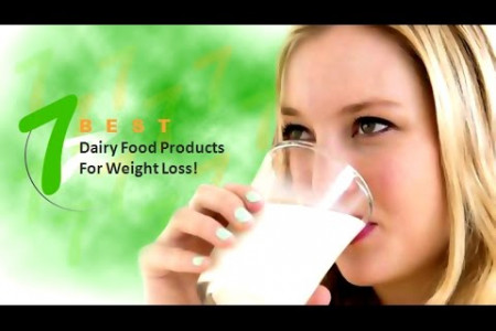 Seven Best Dairy Food Products for Weight Loss! Infographic