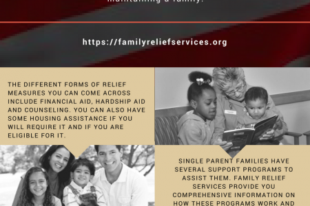 Several Government Food Assistance Programs Infographic
