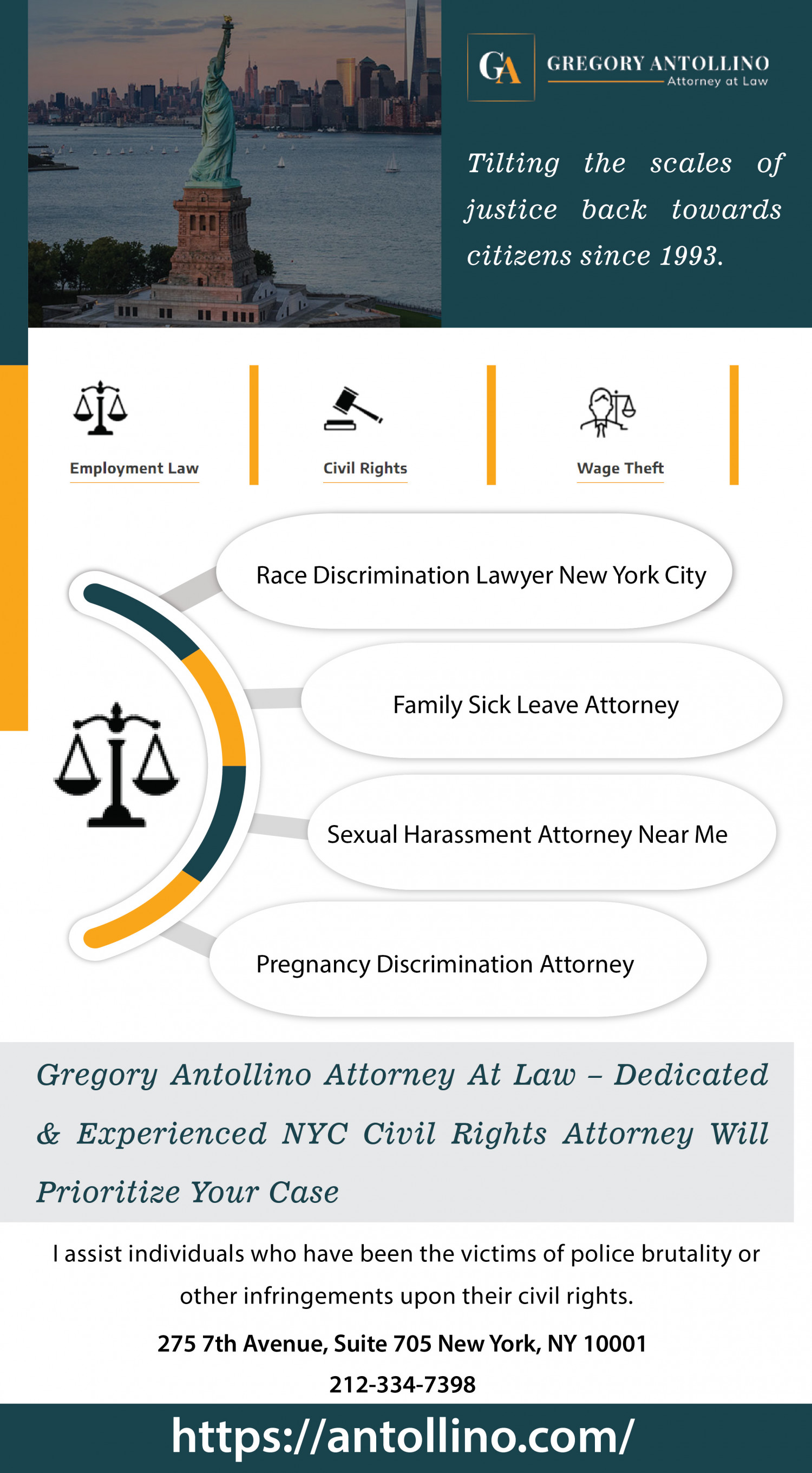 Sexual Harassment Attorney Near Me Infographic