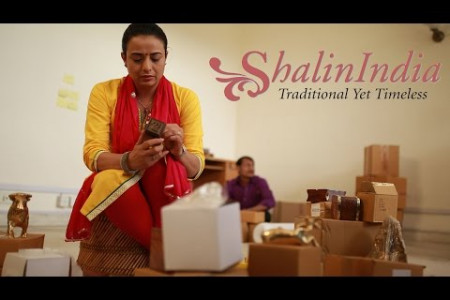 ShalinIndia E Commerce Infographic