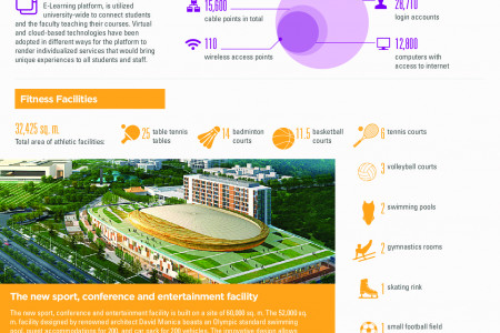 Shantou University at a Glance Infographic