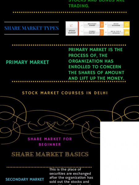 Share Market Basics for Beginner Infographic