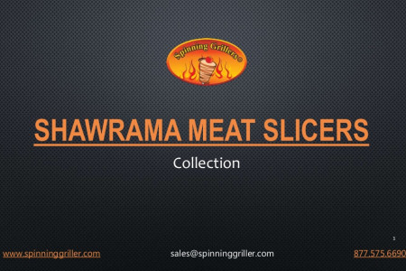 Shawarma Meat Slicers By Spinning Grillers Infographic