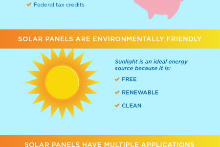 Shedding Light on Solar Panels Infographic