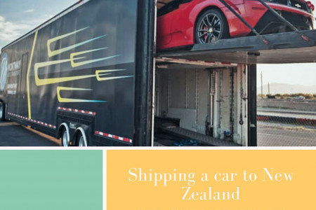 Shipping a car to New Zealand Infographic