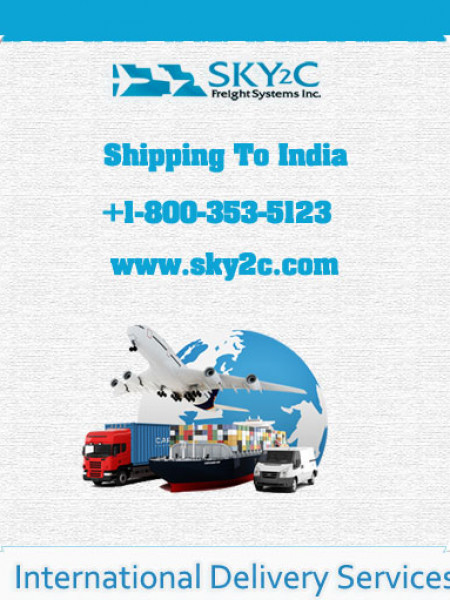 Shipping To India From USA Infographic