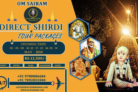 Shirdi direct tour Packages Available by flight - gotoshirdi Infographic