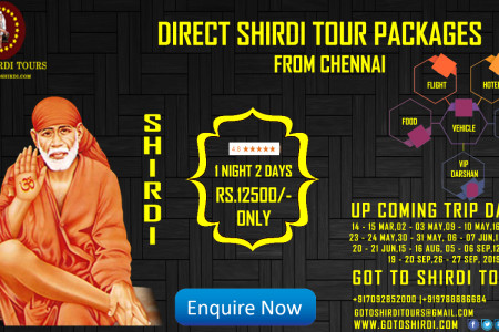 Shirdi tour packages upcoming shirdi trip dates and packages Infographic