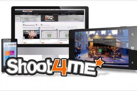 Shoot4me : 90s Startup pitch  : video presentation  Infographic