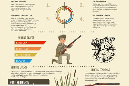Shooting Tips to Bag More Ducks This Year Infographic