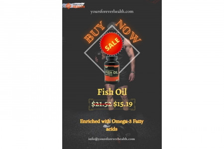 Shop For Fish Oil-Enriched With Omega-3 Infographic