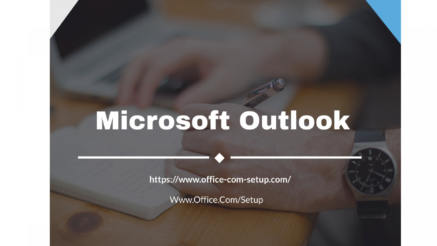 Short guide For Microsoft Outlook Infographic