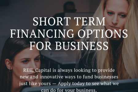 Short Term Financing Options For Business Infographic