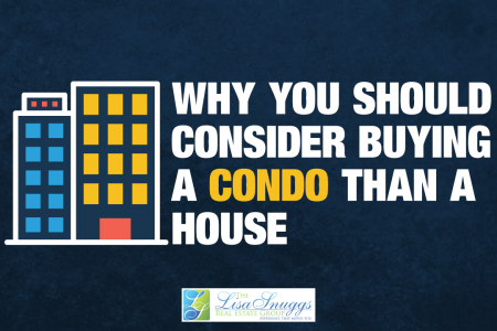 Should Consider Buying A Condo Than A House? Infographic