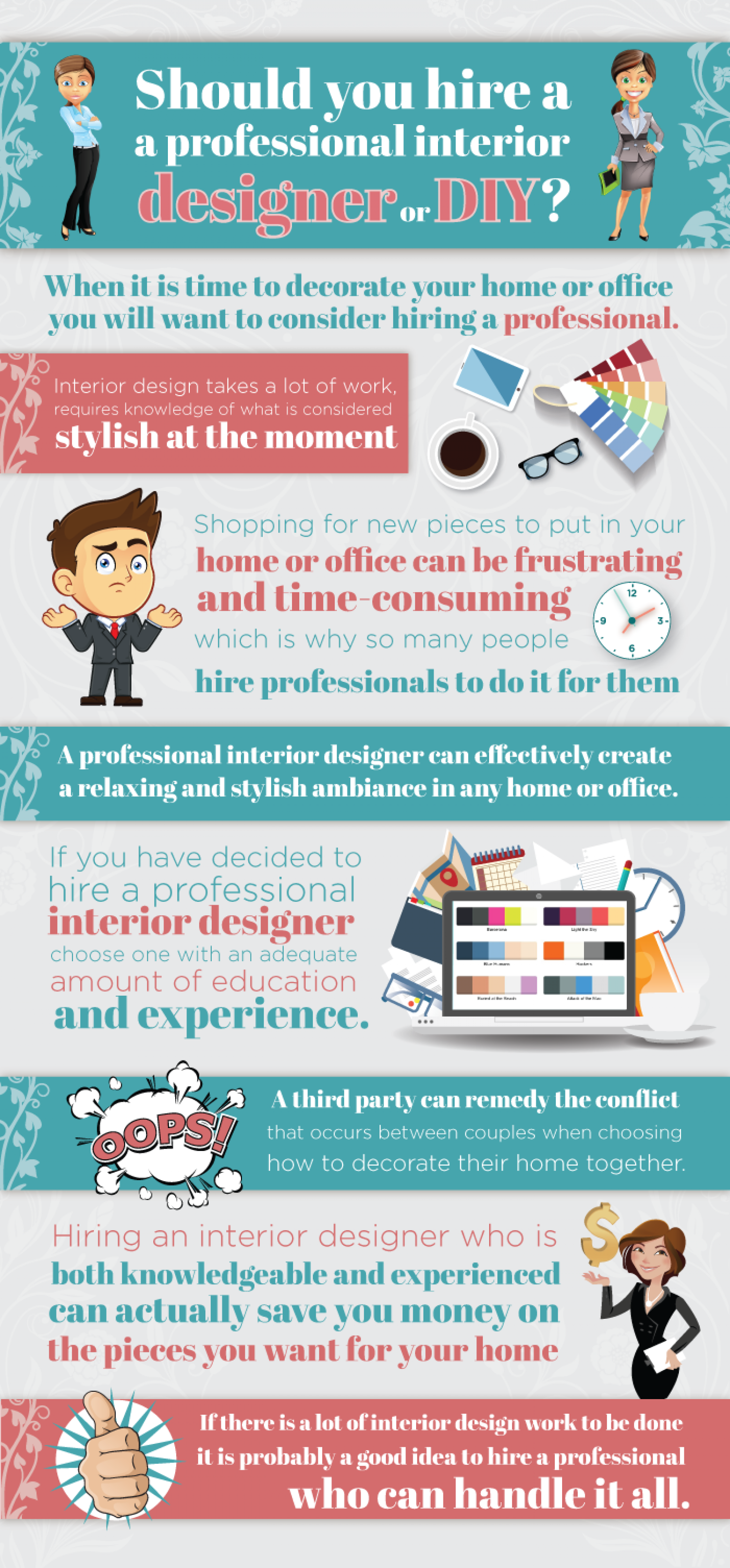 should you hire a professional designer infographic
