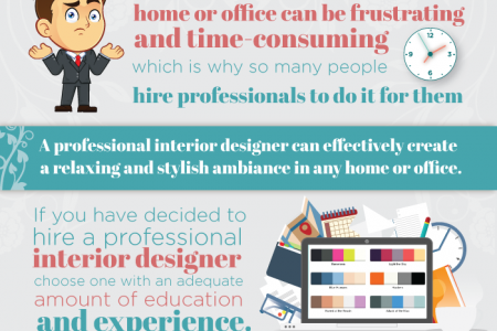 Should you hire a professional designer? Infographic