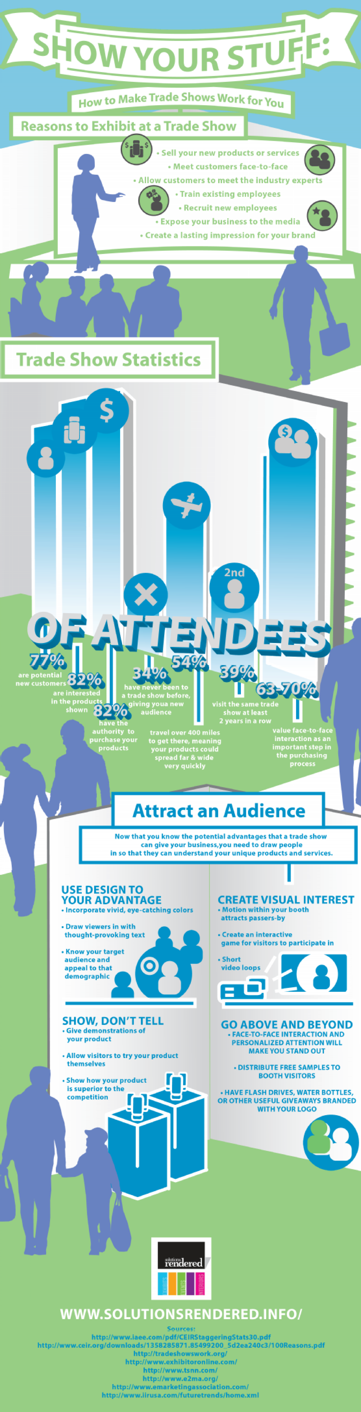 Show Your Stuff: How to Make Trade Shows Work for You  Infographic