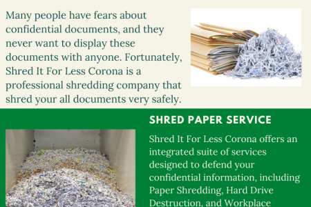 Shred Paper Service Infographic