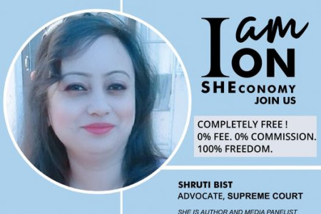 Shruti Bist is on SHEconomy Infographic
