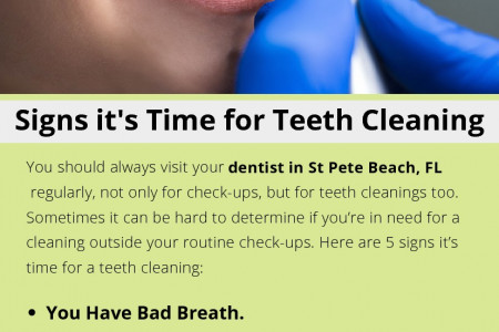 Signs it's Time for Teeth Cleaning Infographic