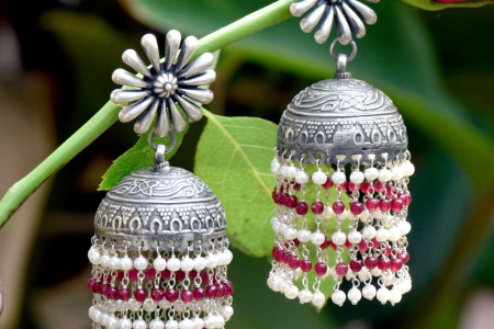 Silver Jhumka Creative Photography  Infographic