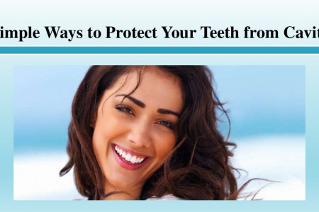 Simple Ways to Protect Your Teeth from Cavities Infographic