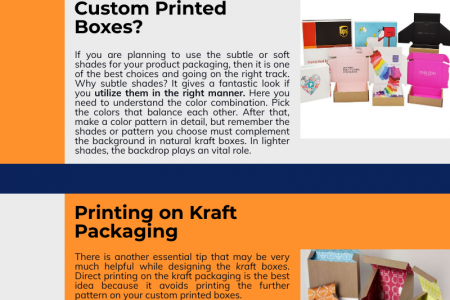 Simplicity in Packaging is Kraft Infographic
