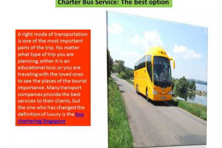 Singapore City shuttle service By Anstransit Infographic