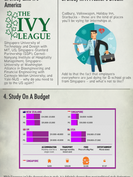 Singapore for Business Management Infographic