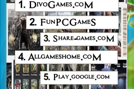 Situs Download Game Gratis Infographic