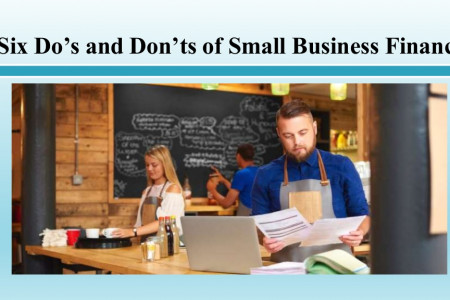 Six Dos and Donts of Small Business Finance Infographic