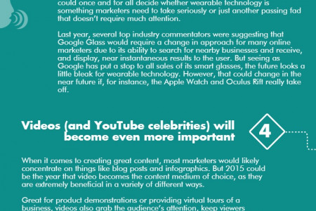 Six marketing predictions for 2015 Infographic