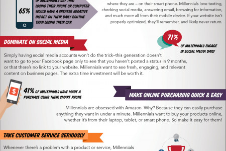 Six Tips for Marketing to Millennials Infographic