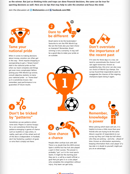 Six Tips to Help Pick the Football Champs Infographic