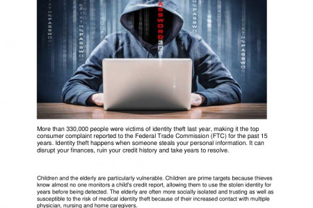 Six Tips to Protect Yourself from Identity Theft Infographic