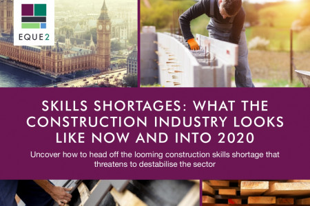 Skills shortages: what the construction industry looks like now and into 2020 Infographic