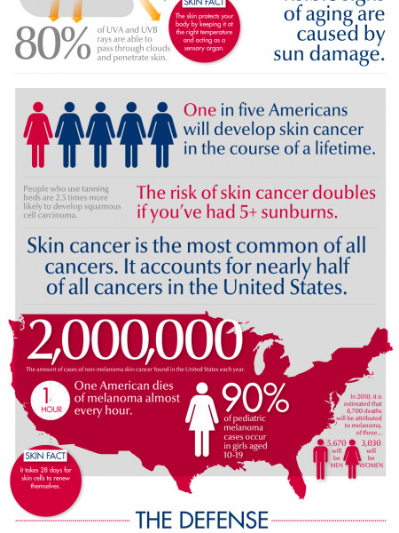 Skin Facts for Life Infographic