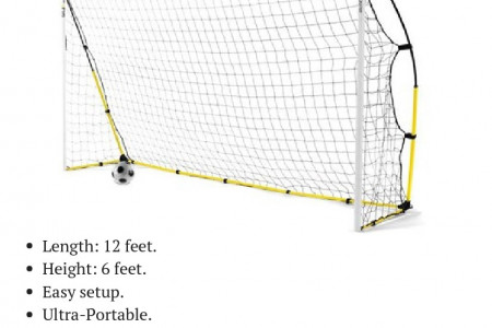 SKLZ Quickster Soccer Goals & Nets | Play it Again Sports Infographic