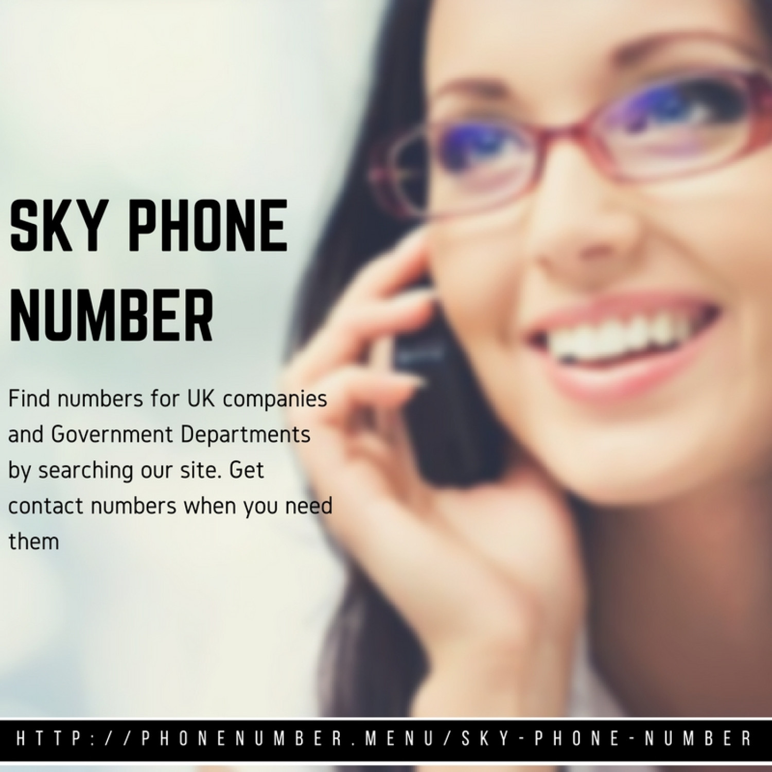 Sky tv phone number Infographic