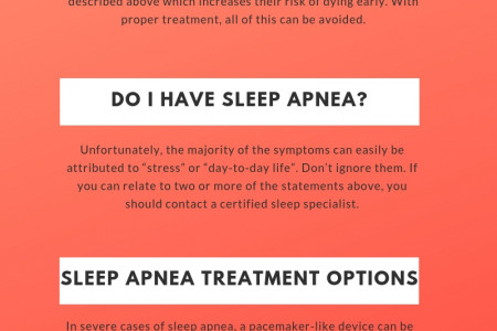 Sleep Apnea - Sleep Apnea Treatment Options, Sleep Apnea And TMJ Disorder Tustin Infographic