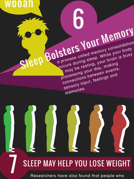 Sleep Facts Infographic