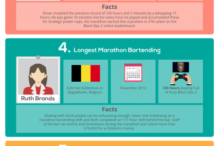 Sleep Your Way To Becoming A World Record Holder Infographic