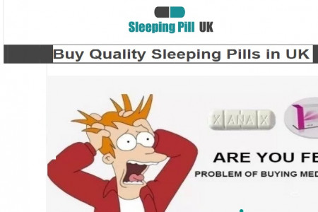 Sleeping Pill UK for Insomnia Treatment Infographic