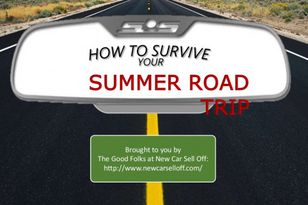 Slideshow Presentation: How to Survive your Summer Road Trip Infographic