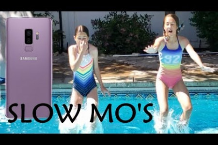 Slow Motion Water Sound Effect | Summer Slow Mo Infographic
