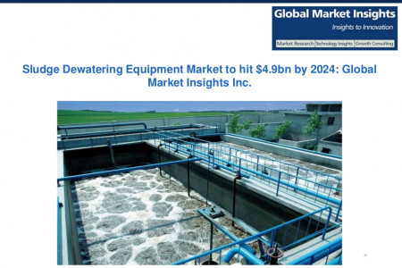Sludge Dewatering Equipment Market to grow at 4% CAGR from 2016 to 2024 Infographic