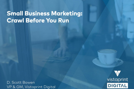 Small Business Marketing: Crawl Before You Run Infographic
