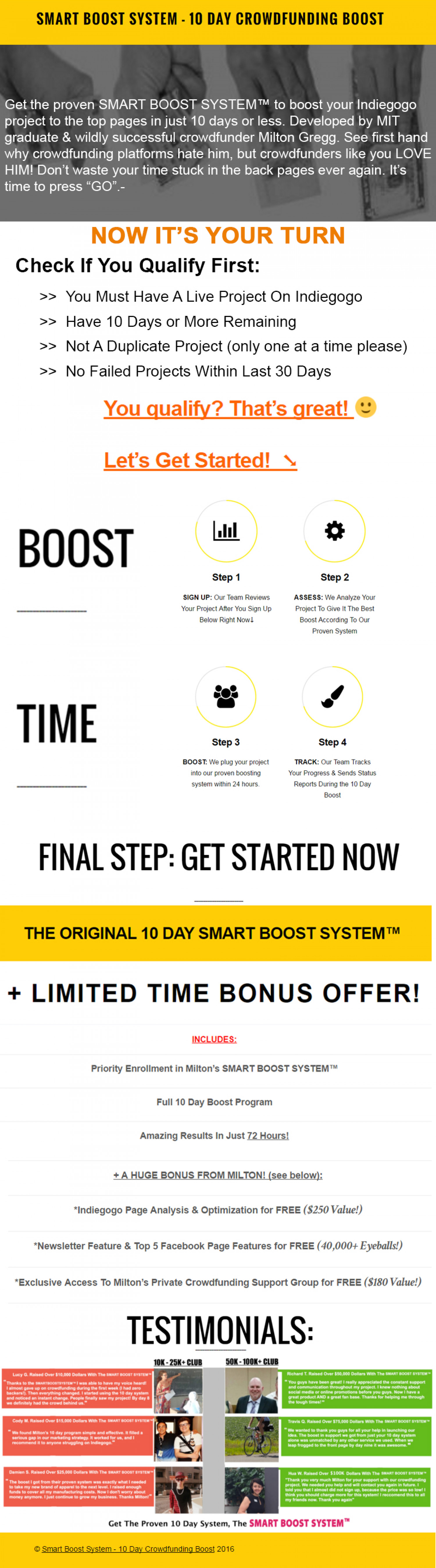 Smart Boost System Infographics Infographic