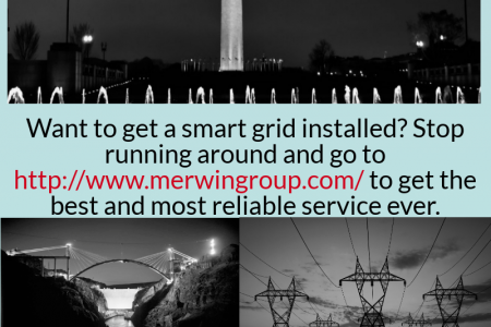 Smart Grid - www.merwingroup.com Infographic