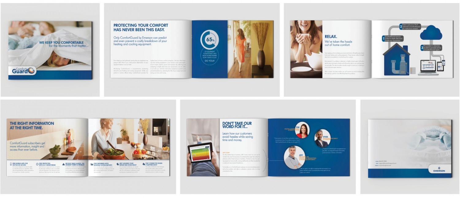Smart Home Service Introductory Booklet Infographic